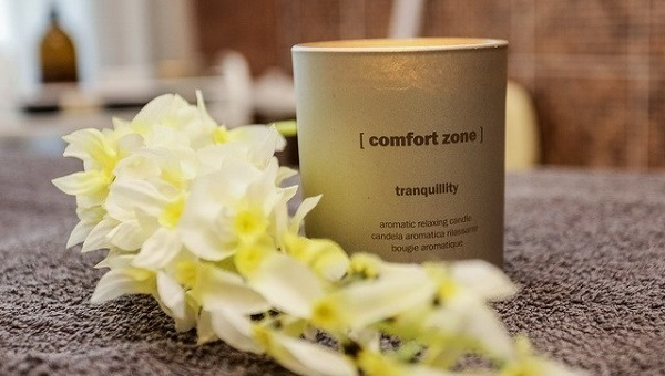 Body and face care with comfort zone cosmetics